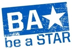be a STAR logo