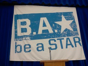 be a STAR banner at JFK Middle School
