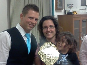 The Miz, Heather Lopez, and Joaquin Lopez