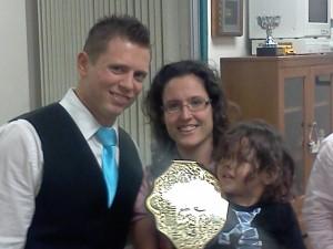 The Miz, Heather Lopez, and Joaquin Lopez