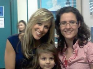 Lilian Garcia, Heather Lopez and Isabella Lopez