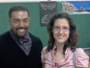 David Otunga and Heather Lopez