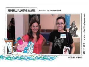 Heather with sponsor Redbull