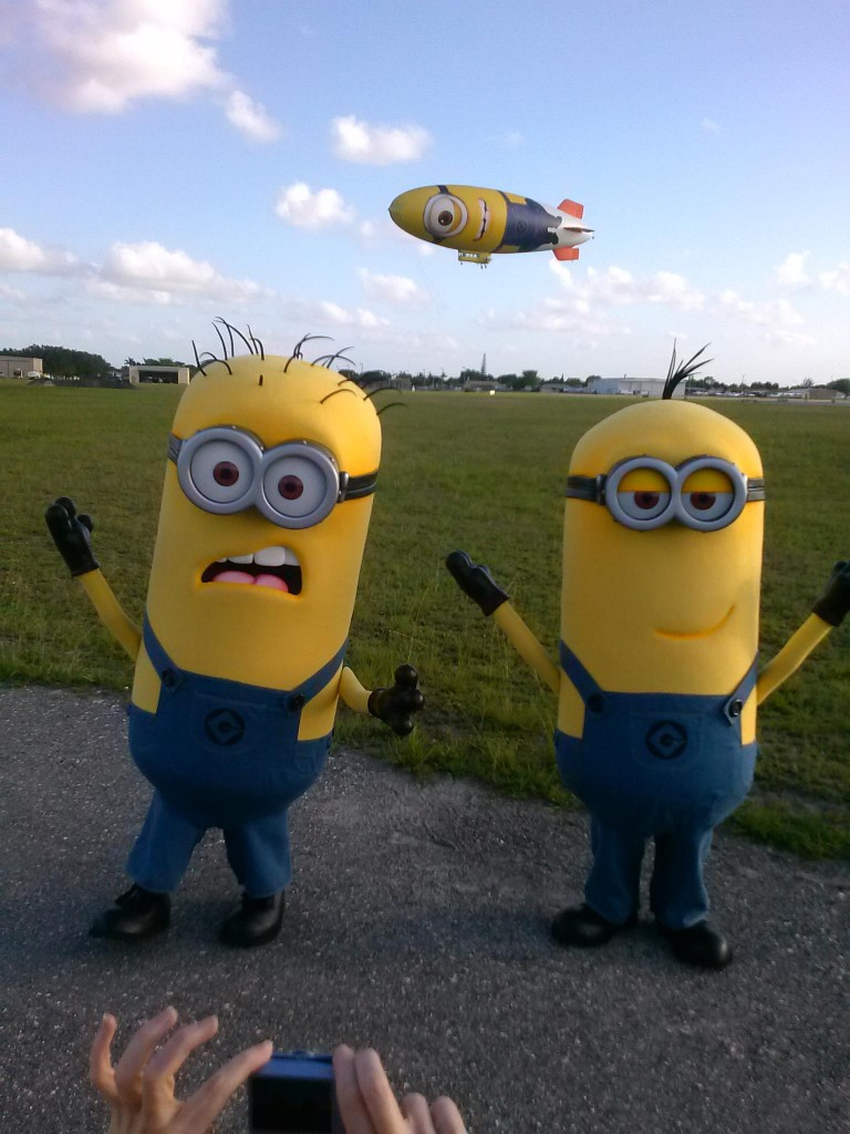 minions and despicablimp