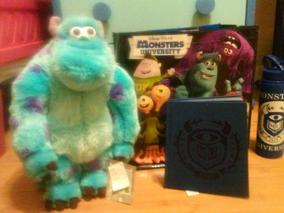 Disney Store Bayside Miami Monsters University Giftbag