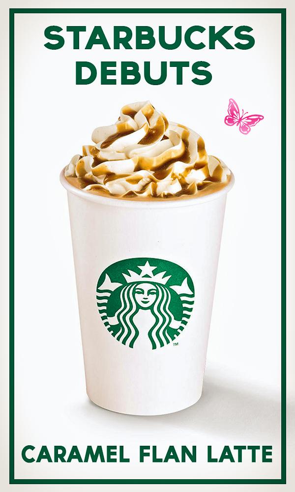 Starbucks Caramel Flan Latte