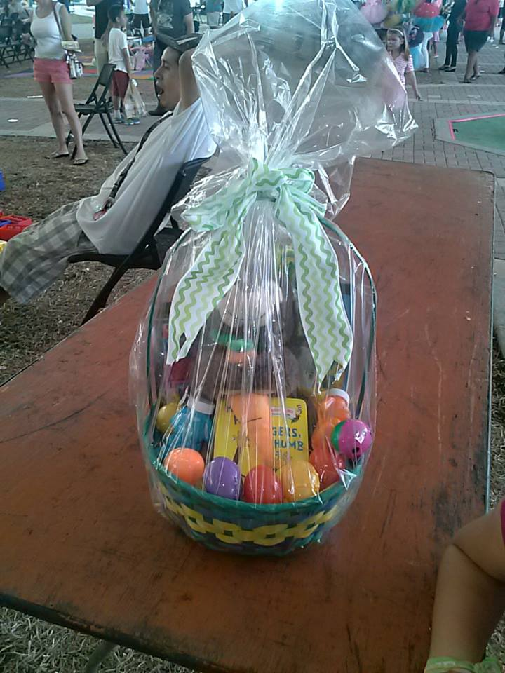 I won an Easter basket