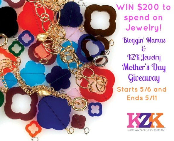 KZK Jewelry Mother's Day Giveaway