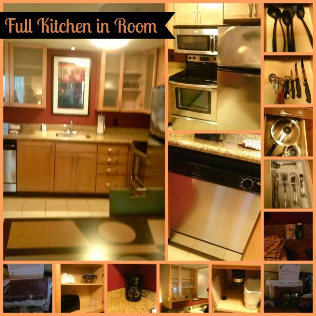 Residence Inn Kitchen