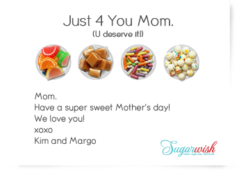 Sugarwish Mother's Day Card