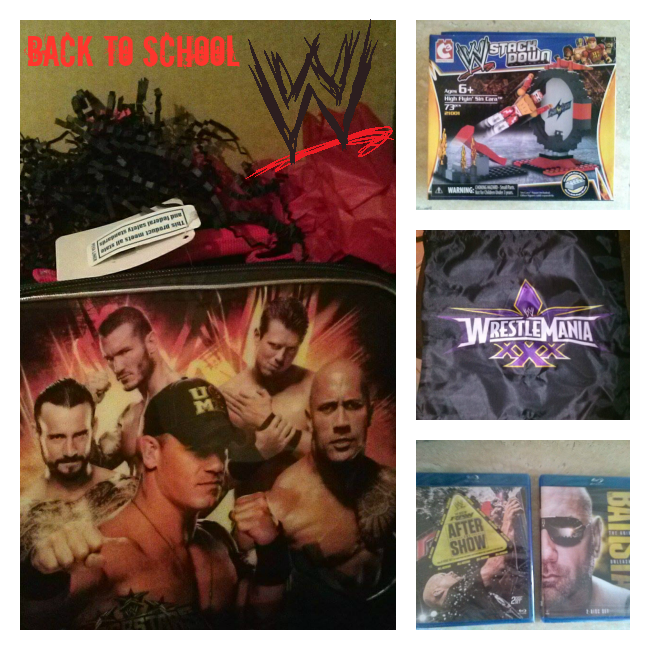Back to School WWE ambassador package