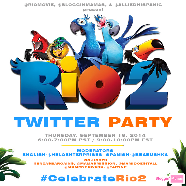 #CelebrateRio2 Twitter Party 9-18-14 at 9pm EST. RSVP http://bit.ly/celebraterio2