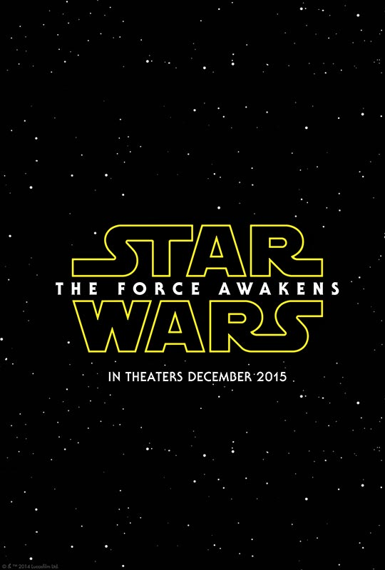 Star Wars The Force Awakens Coming December 2015