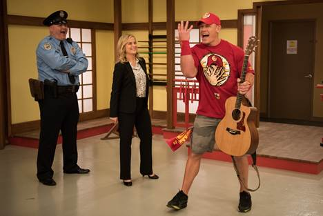 WWE Superstar John Cena on Parks and Recreation