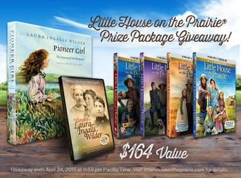 Little House on the Prairie Ultimate Prize Package Giveaway Ends 4-24-15 $164 ARV