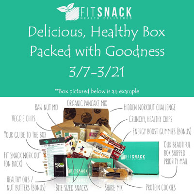 Fit Snack Healthy Box Giveaway Ends 3-21-15 US 18+