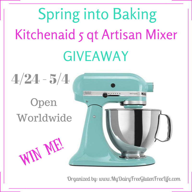 Win a Kitchenaid Mixer1 Ends 5-4-15