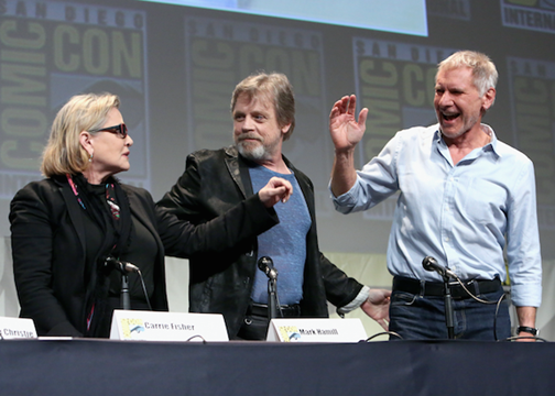 Star Wars: The Force Awakens Comic-Con