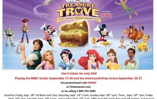 Disney On Ice Treasure Trove Ft. Lauderdale discount