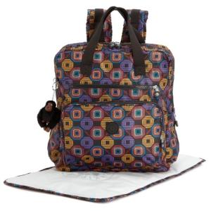 Kipling Alanna Honeycomb Baby Backpack