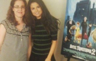 Transylvania 2 Selena Gomez Interview- Heather Lopez and #SelenaGomez. #HotelT2