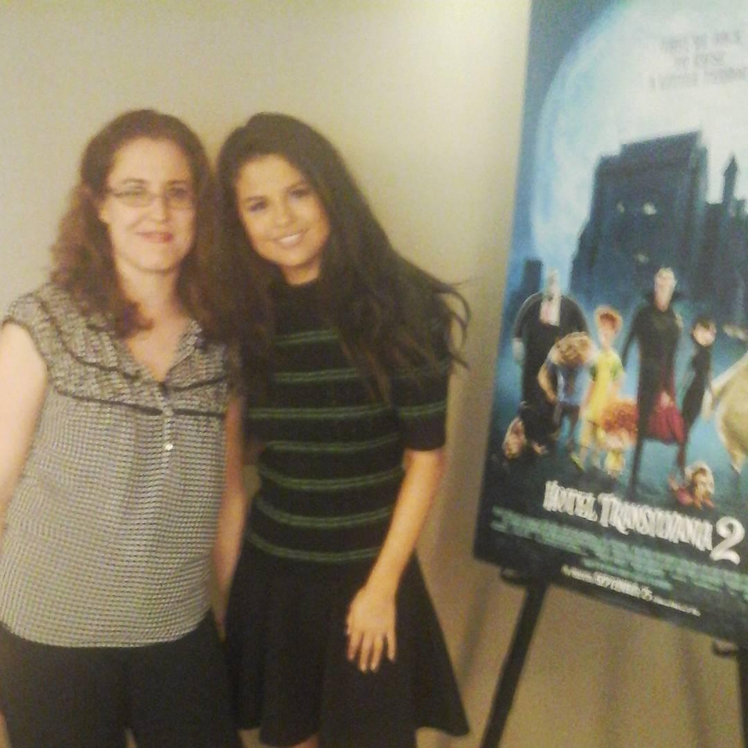 Transylvania 2 Selena Gomez Interview- Heather Lopez and #SelenaGomez. #HotelT2