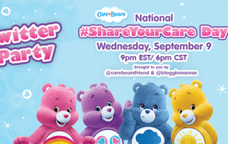 Care Bears Share Your Care Twitter party 9-9-15 at 9p EST RSVP http://bit.ly/shareyourcareparty