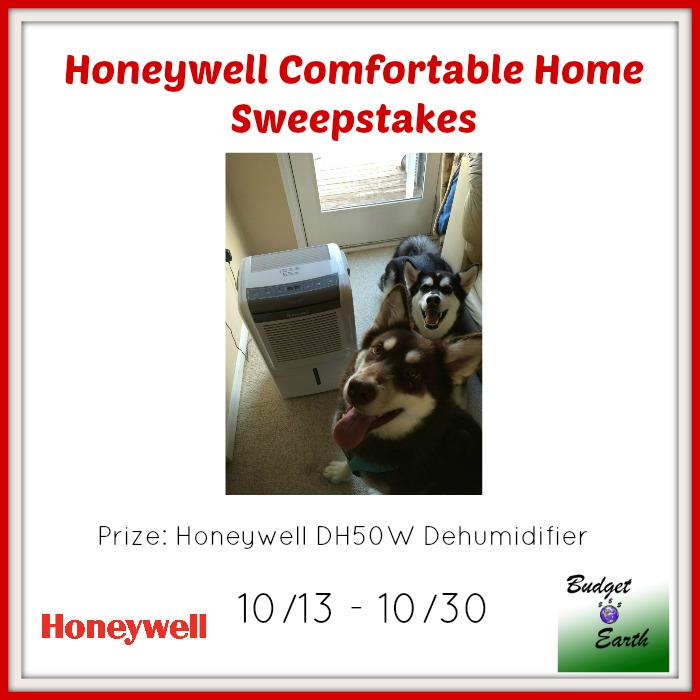Honeywell Comfortable Home Sweepstakes- Ends 10-30-15. US 18+