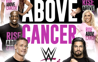 WWE Rise Above Cancer Gear to support Susan G. Komen