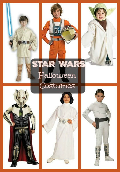 Star Wars Halloween Costumes for Kids, Toddlers and Babies! Roundup Post