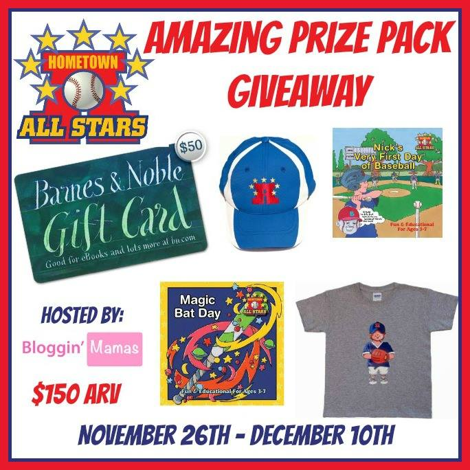 The Hometown All Stars Pirze Pack Giveaway and product review. Ends 12-10-15. US 18+.