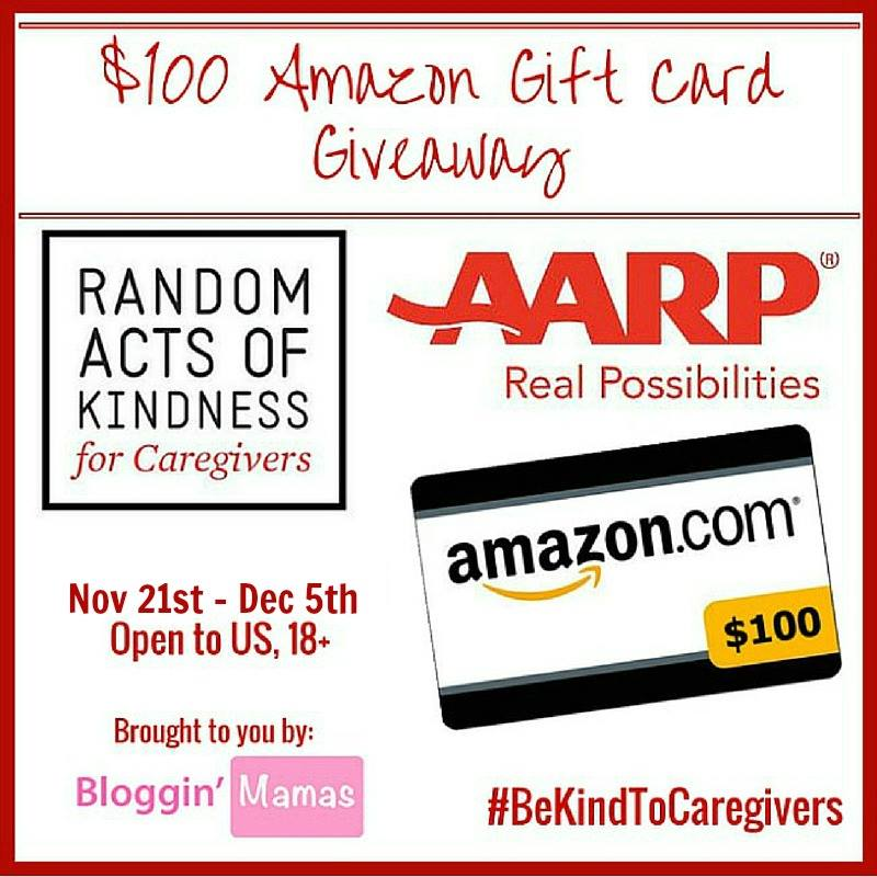 AARP Random Acts of Kindness Awareness Giveaway Ends 12-5-15 US 18+
