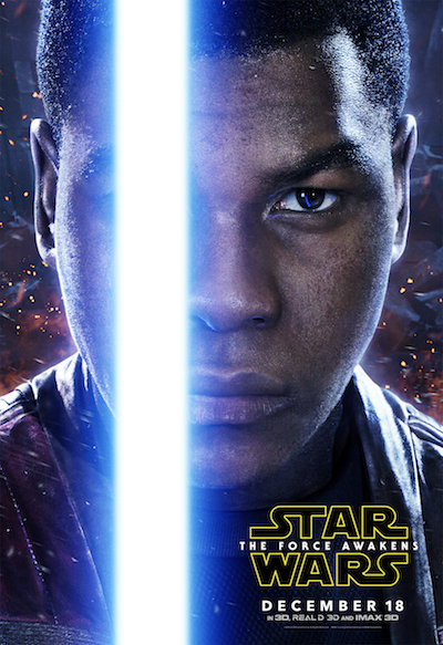Finn poster Star Wars: The Force Awakens