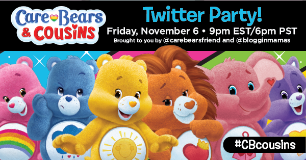 Care Bears & Cousins on Netflix Launch Twitter Party 11-6-15 at 9p EST bit.ly/cbcousinsparty #CBcousins