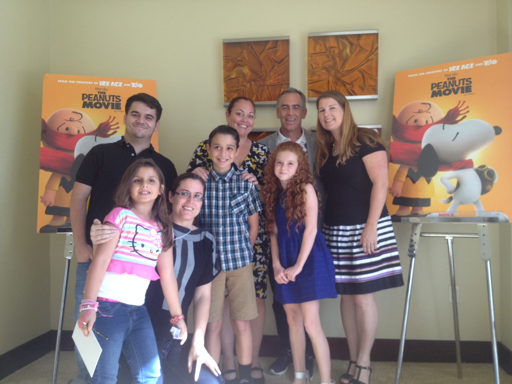 The Peanuts Movie Interview with Steve Martino and Francesca Capaldi