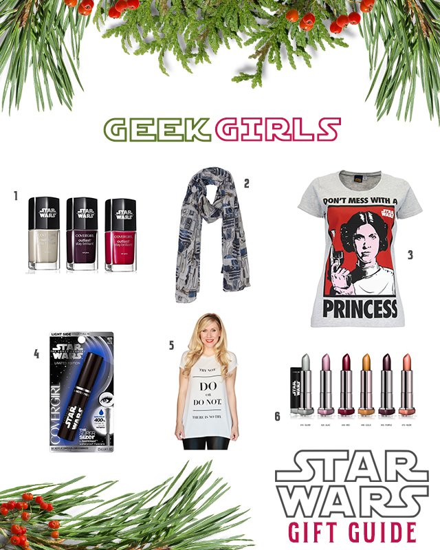 Star Wars Gifts for Women and Girls, Geek Girls
