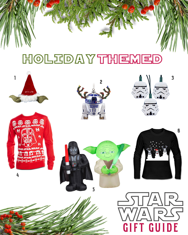 Star Wars Holiday-Themed Gifts, Christmas Gifts