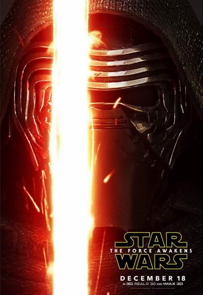 Kylo Ren poster Star Wars: The Force Awakens