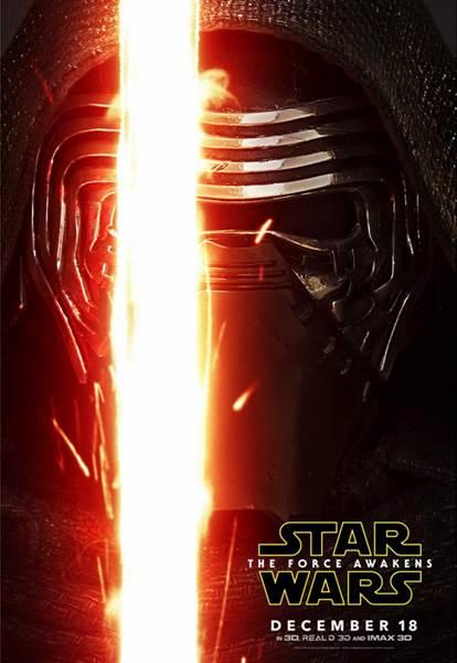 Kylo Ren poster Star Wars: The Force Awakens