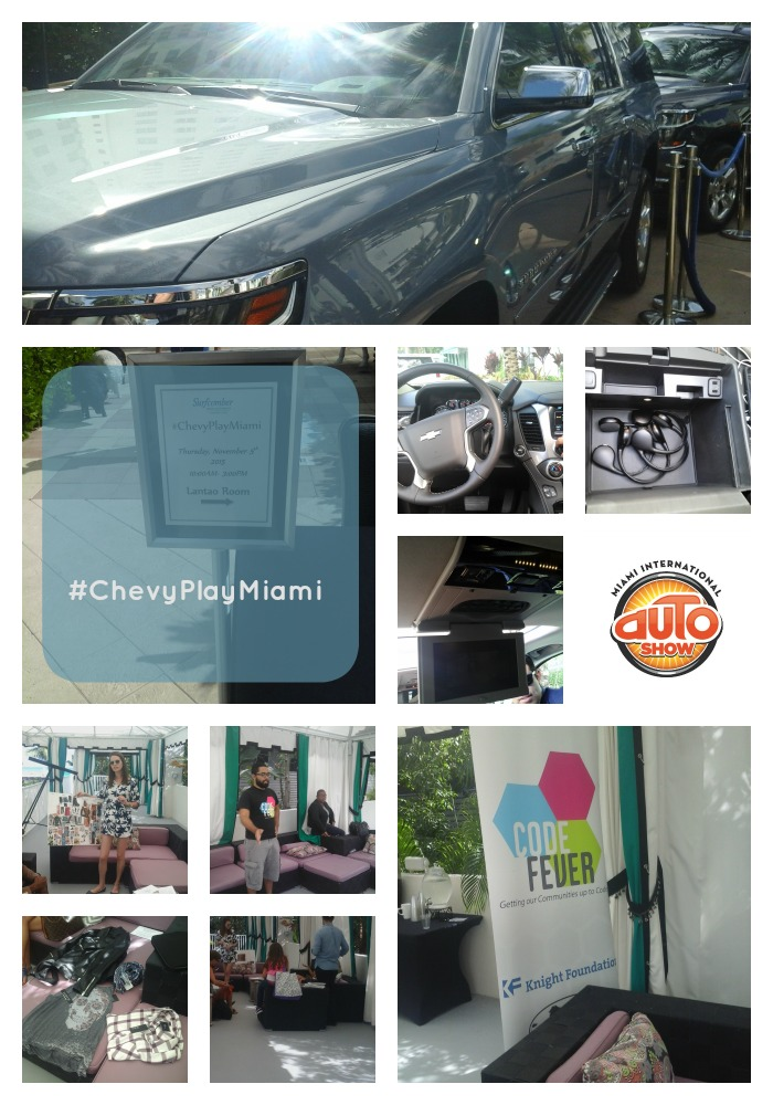 Miami Auto Show Ambassador VIP Day sponsored by Chevy