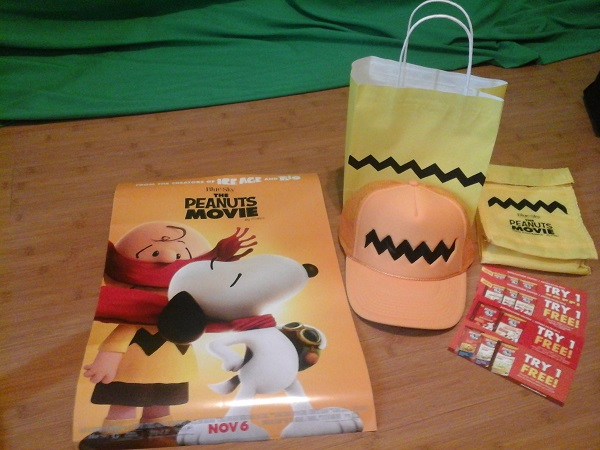 The Peanuts Movie Promotional Items