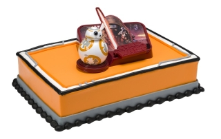 Baskin-Robbins Star Wars: The Force Awakens Cake
