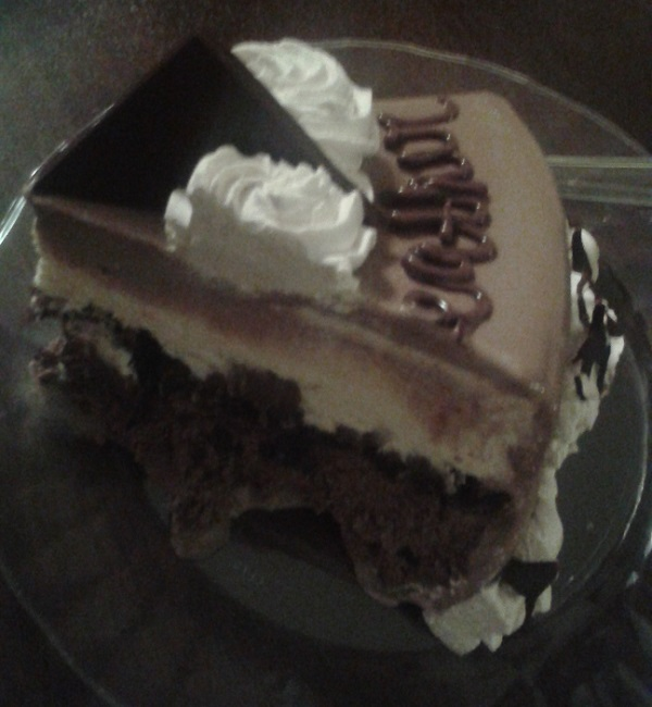 Baskin-Robbins cake slice