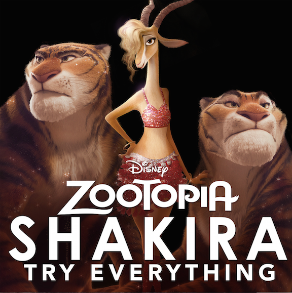 Skakira Try Everything Video for ZOOTOPIA- Gazelle