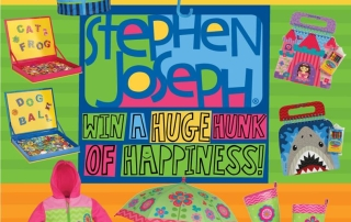 Win a Stephen Joseph Gift Pack! Ends 2-29-16 ARV $125! US 18+