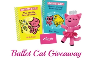 Ballet Cat Giveaway Ends 2-15-16