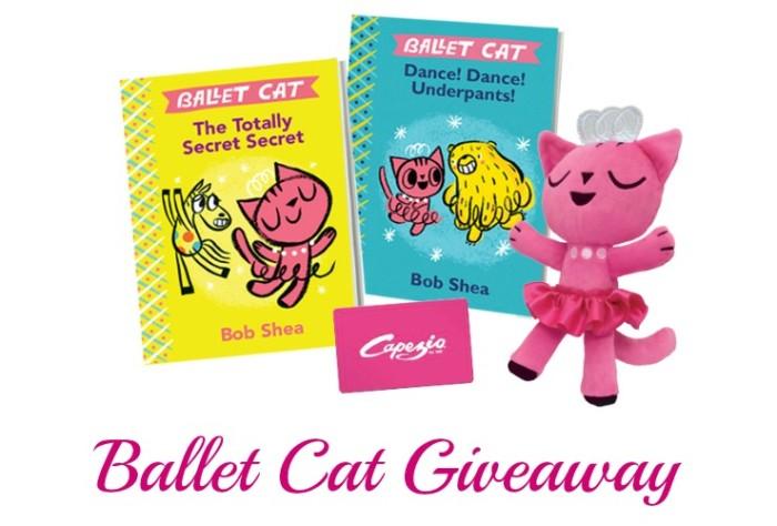 Ballet Cat Giveaway Ends 2-15-16