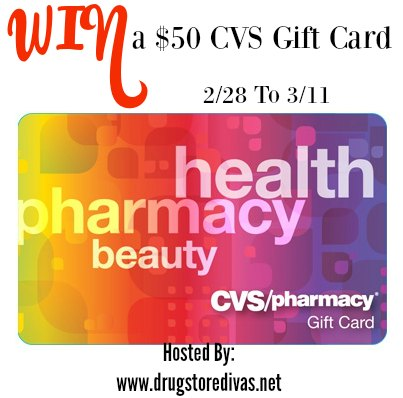 Win a $50 CVS Giftcard! Ends 3-11-16. US 18+.