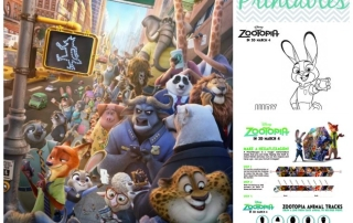 Zootopia Clips and Printables