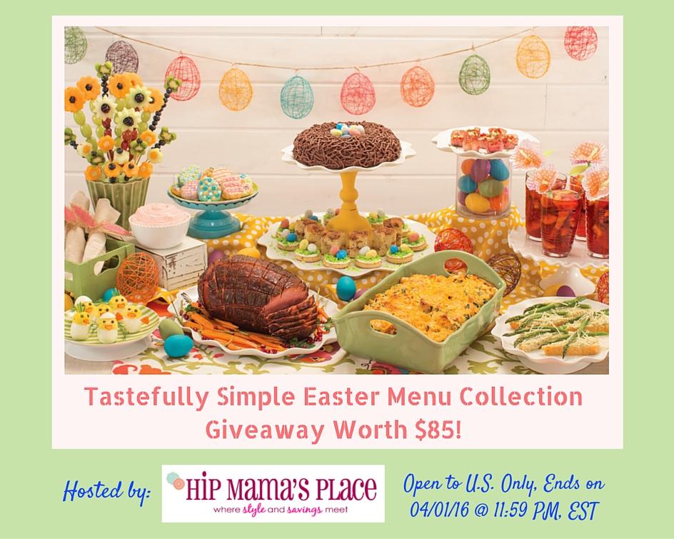 Tastefully Simple Easter Giveaway Ends 4-1-16